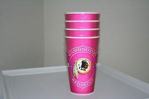 Washington Redskins NFL Drinkware Cups Spirit Cups Pink