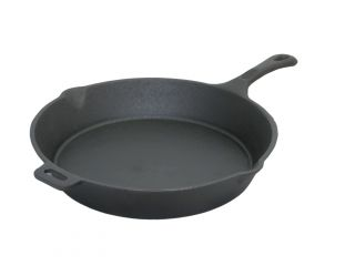 Old Mountain Pre Seasoned Cast Iron Skillet with Assist Handle 10 5in x 2in