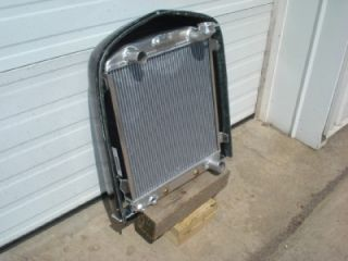 "1932 Ford 2"" Chopped Radiator Grill Shell Insert Model A 1930 31 Rat Rod USA"