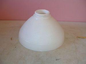 Vintage Glass White Milkglass Torchiere Floor Lamp Shade Globe