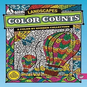 MindWare Color COUNTS Landscapes Toy Kids Art Crafts Supplies Drawing Painting