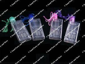 12 Cell Phone Sand Art Necklace Craft Supplies Bottles