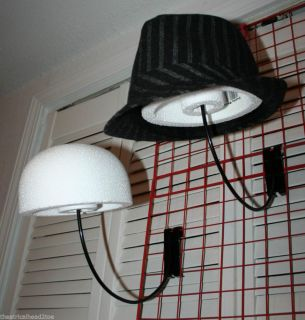 Styrofoam Display Block Hat Cap Store Wig Holder Mannequin Head Form Craft Art