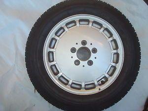 Mercedes W124 Spare Alloy Wheel Rim Tire 1244010702 6 5JX15H2 195 65 15