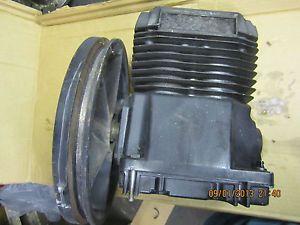Air Compressor Pump Single Stage Twin Cylinder Sandborn 5HP Pump Only