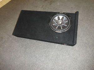 2007 2012 GMC Sierra Chevy Silverado Crew Cab Subwoofer Box Enclosure Crewcab