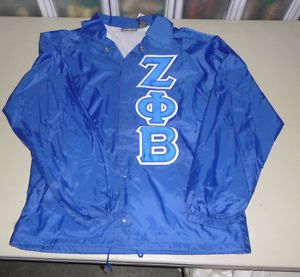 Medium ZFB Zeta PHI Beta Line Jacket One Greek Store CLEARANCE Sale