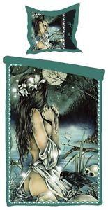 Victoria Frances Horizonte Gothic Lady Single Gothic Bedding Set Duvet Cover