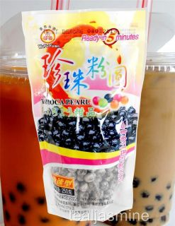 Boba Black Tapioca Pearl Bubble Tea Ready in 5 mins 8 8 oz Milk Tea Ice Coffee
