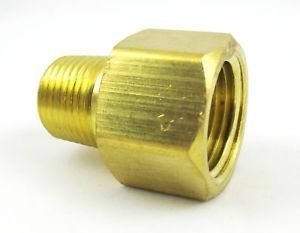 Brass Pipe 1 4 Female 1 8 NPT Male Adapter Reducer Air