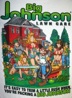Big Johnson T Shirt Lawn Care