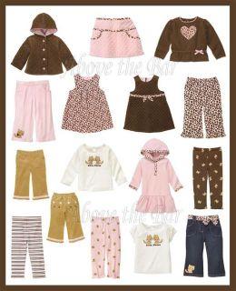 Gymboree Kitty Glamour Baby Toddler Dresses Top Leggings Pants Jacket U Pick