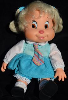 "12"" Eleanor Doll Vintage 1984 Ideal Chipettes Alvin Chipmunks Brittany Jeanette"