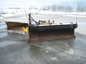10ft Monroe Snow Plow and Truck Hitch