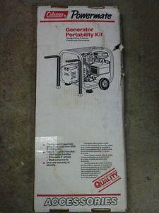 NOS Coleman Powermate Generator Portability Kit Wheel Kit Generators