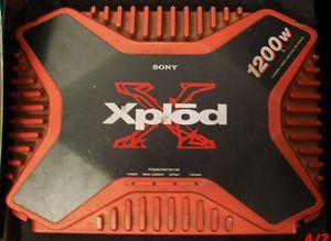 Sony Xplod Car Amplifier Amp 4 Channel 800W Untested