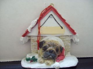 Holiday Christmas Pet Decor Knick Knack Statue Figurine Ornament Pug