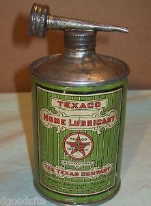 1910 Era Texaco Home Lubricant The Texas Company Port Arthur 1 16 U s Gallon VG