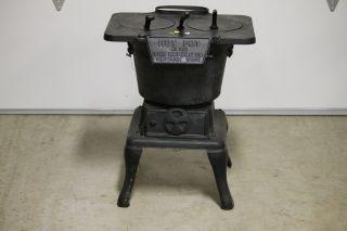 The Wehrle Company Cast Iron Wood Burning Stove Brand New Condition Newark Ohio