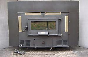 Kindlewood Wood Coal Burning Fireplace Insert Stove Burner Woodburning