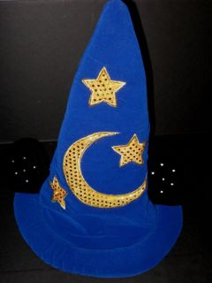 Disney World Fantasia Sorcerers Mickey Mouse Ears Hat Light Up Costume Adult