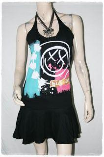 Blink 182 Heavy Metal Rock DIY Halter Dress Top