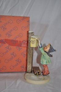 """Hummel Figurine """"A Letter to Santa"""""""