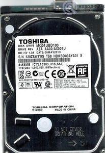 Toshiba MQ01UBD100 USB 3 0 1TB Aza AA00 AX001U China