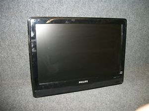 """Philips Model 19PFL3403D F7 Black 19"""" Flat Panel LCD TV Widescreen Television"""