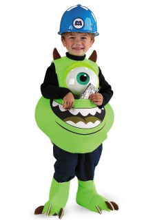 Mike Wazowski Candy Catcher Monsters Inc Child Costume