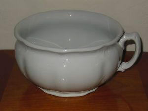Antique Royal Ironstone China Johnson Bros England Chamber Pot