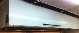 "Restaurant Commercial Kitchen Exhaust Hood 12' x 48"" w Fire Suppression System"