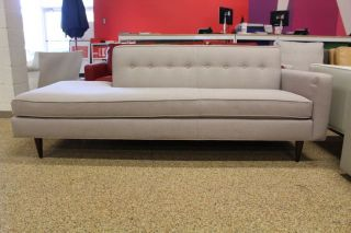 Bantam Studio Sofa Right Heather Basket Weave Design Within Reach