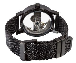 German Brand Black Automatic Mens Wrist Watch Sogiabbb