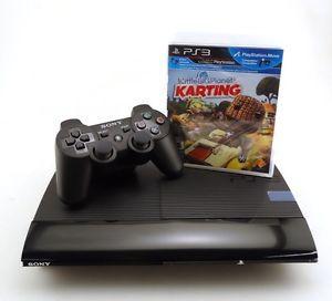 Sony PlayStation 3 Slim 250GB Little Big Planet Karting Move Bundle