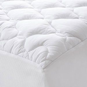 daniadown white goose pillow top feather bed mattress pads