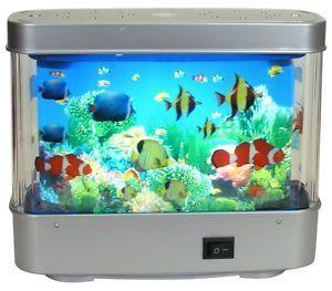 Fish Aquarium Motion Lamp
