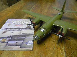 1 48 Martin B 26 Marauder Pre Built Model Aircraft Kit and B 26 Units Book
