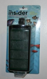 The Insider Internal Aquarium Filter Air Driven Inside The Tank Cartridge Filter