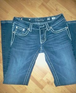 Miss Me White Jeans Size 27