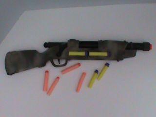 Modified Bolt Action Buzz Bee Hunter Nerf Gun Darts