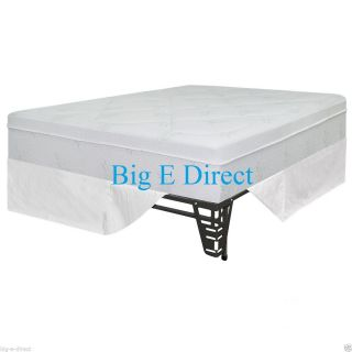 """12"""" Night Therapy Pressure Relief Memory Foam Mattress Bed Frame Set 5 Sizes"""