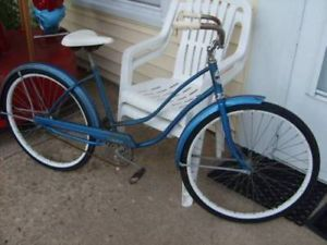 "Vintage 1960s Hawthorne Bicycle Beach Cruiser 26"" Bike"