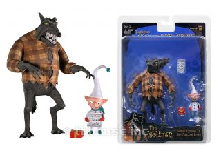 "6"" The Wolfman Figure Nightmare Before Christmas Xmas NECA NBX Werewolf Series 3"
