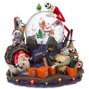 Tim Burton's Nightmare Before Christmas Musical Snow Globe