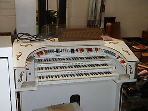 Rodgers 3 Manual 321 Full Console MIDI Organ Bench Pedals w