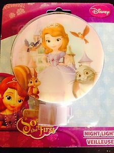 Disney's Sophia The First Night Light New in Box