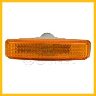 97 03 BMW E39 528i 530i 540i M5 Amber Side Marker Lamp Light Assembly New LH RH