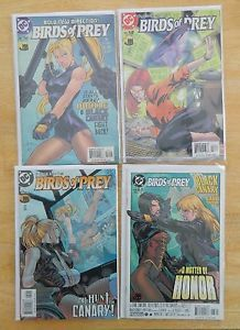 DC Birds of Prey 15 Comics Oracle Black Canary Huntress 56 101 Batgirl NM NM