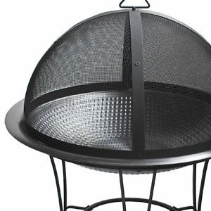 Stainless Steel Outdoor Patio Wood Burning Fire Pit Fireplace